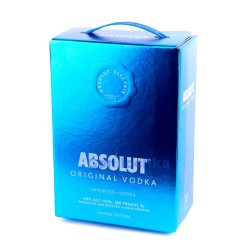 Водка Абсолют Электрик (Absolut Electrik) 3 литра